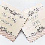 הזמנות יוקרתיות לחתונה